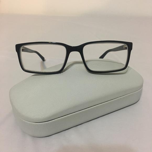 3dacf16eb7f8d Warby Parker Reynold Black Rx Frame Glasses. M 5c29e1800cb5aa5c0eb204f5
